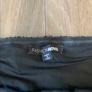 Fashion Nova Dresses - Fashionnova black sequin tube dress